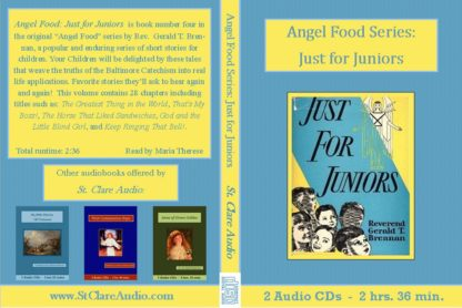 Angel Food Series: Just for Juniors - St. Clare Audio