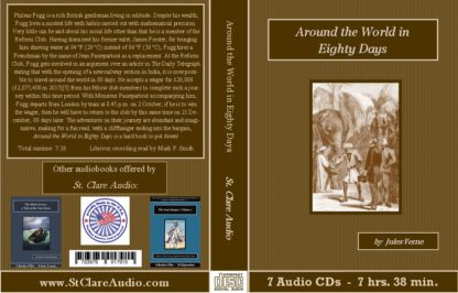 Around the World in Eighty Days Audiobook CD Set - St. Clare Audio