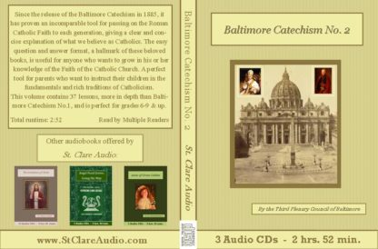 Baltimore Catechism No. 2 - St. Clare Audio