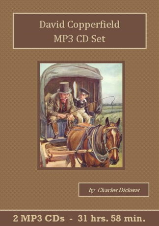David Copperfield MP3 Audiobook CD Set - St. Clare Audio