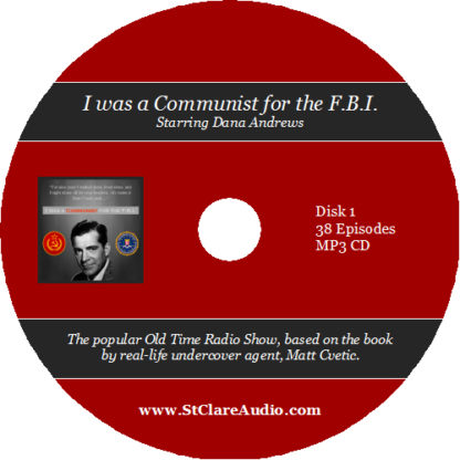I was a Communist for the F.B.I. - St. Clare Audio