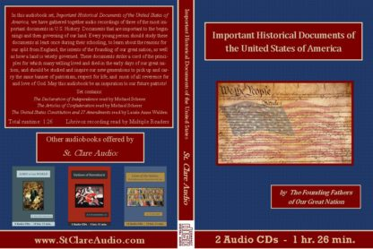 Important Historical Documents of the United States - St. Clare Audio
