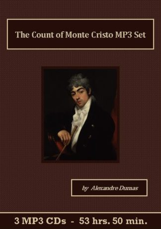 The Count of Monte Cristo MP3 Audiobook CD Set - St. Clare Audio