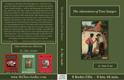 The Adventures of Tom Sawyer Audiobook CD Set - St. Clare Audio